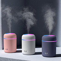 Humidifier Colorful Cup Usb Mini Home Bedroom Office Car Desk Colorful Led Surface Air Spray
