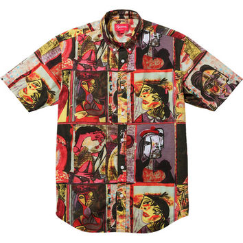 Supreme: Cubist Shirt - Red