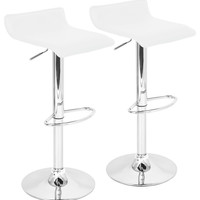 Contemporary Adjustable Stools, Black, Set of 2 - Contemporary - Bar Stools And Counter Stools - by HedgeApple