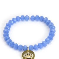 Crown Coin Beaded Bracelet by Juicy Couture, O/S