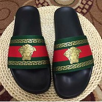 shosouvenir Versace men and women Cloth slippers