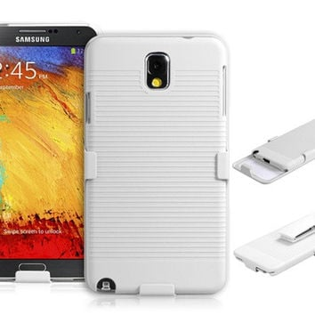 Set Protective Case with Clip for Samsung Galaxy Note 3