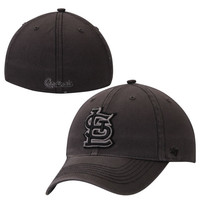 St. Louis Cardinals '47 Brand Black Dagger Flex Hat – Charcoal