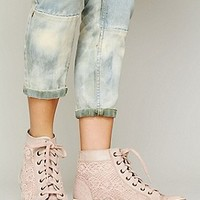 Free People  Atlas Crochet Sneaker at Free People Clothing Boutique