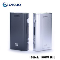 Eleaf iStick 100W Box Mod 18650 iSmoka iStick 100W VW Ecig vape mods mechanical mod dhl