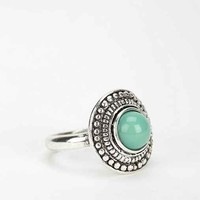 Oval Turquoise Ring- Turquoise 6