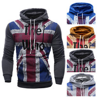 """UK Style """"The Who"""" Designer Pullover Hoodie"""