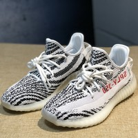 Trendsetter Adidas Yeezy Boost 350v2 Women Men Fashion  Casual Sneakers Sport Shoes