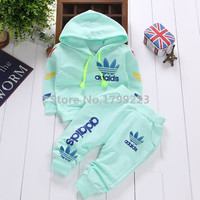 Copy of 2015 brand autumn baby boy girl clothes Long sleeve Top+ pants 2pcs sport suit carters baby clothing set newborn infant clothing