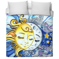 Moon And Sun Bed Sheet 🌙