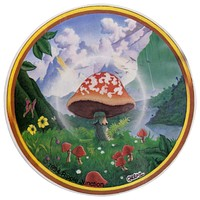 Mushroom Valley Decal