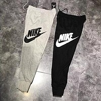 """NIKE"" Fashion Casual Print Sport Stretch Pants Trousers Sweatpants"