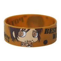 Attack On Titan Potatoes!!! Rubber Bracelet