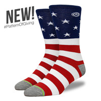 The Independence - Men's American Flag Socks