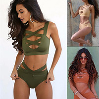Cut Out Design Bikini