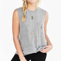 Truly Madly Deeply Moon Pocket Muscle Tee