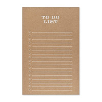 Kraft To Do List
