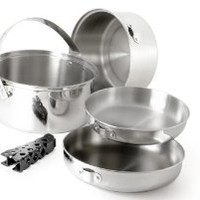 GSI Outdoors Glacier Stainless Cookset (Medium)