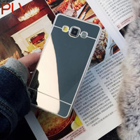 Plating Mirror Soft TPU Case Cover For Samsung Galaxy S8 S8 Plus A5 A7 A510 A710 J5 J7 J510 J710 S3 S4 S5 S6 S7 Edge Phone Case