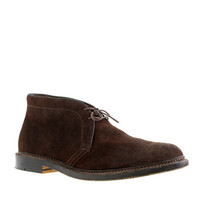 Alden For J.Crew Roughed-Out Suede Chukka Boots