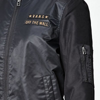 Vans Boom Boom Satin Bomber Jacket at PacSun.com