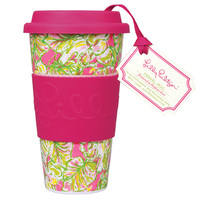 Travel Mug - Elephant Ears - Lilly Pulitzer