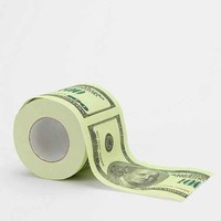 Money Toilet Paper Roll- Green One