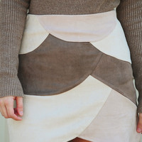 Banded Together Skirt: Multi
