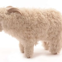 Life-size Sheep Ottoman or Sculpture