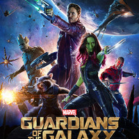 Guardians of the Galaxy (2014) UV Poster v003 27 X 40