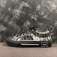 B23 Low Dior Oblique Sneaker Black