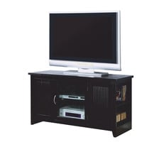 """Cappuccino Solid Wood and Veneer 48""""L TV Console"""
