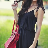 Soft To The Touch Dress: Midnight Black | Hope's