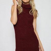 Jamie Dress - Maroon