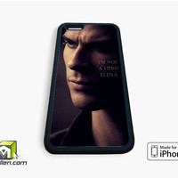 Damon Vampires Diaries iPhone Case 4, 4s, 5, 5s, 5c, 6 and 6 plus by Avallen