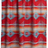 Red Branch Shower curtain