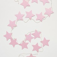 Glittery star garland - Pink - Home All | H&M GB