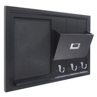 Uniek Wood Wall Organization Chalkboard & Reviews | Wayfair