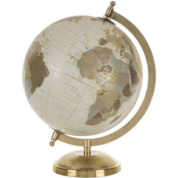 Gold Globe with Stand   Hobby Lobby   1473198