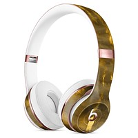 Golden Smoked Feathers Full-Body Skin Kit for the Beats by Dre Solo 3 Wireless Headphones