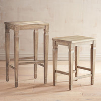Bradding Natural Stonewash Bar & Counter Stool
