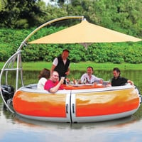 barbeque dinning boat - Google Search