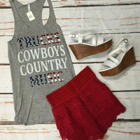 Trucks Cowboys Country Music: Grey