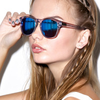 Wildfox Couture Classic Fox 2 Deluxe Sunglasses Crystal One