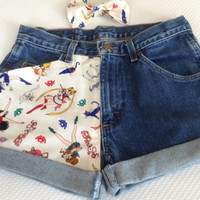 SAILOR MOON High Waisted Shorts with Bow in Your Size-RARE