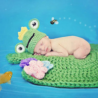 Newborn Baby Girls Boys Crochet Knit Costume Photo Photography Prop = 4457576132