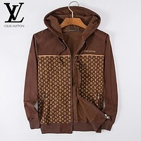 Boys & Men Louis Vuitton Fashion Casual Cardigan Jacket Coat Hoodie