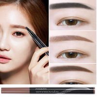 PHOERA High-end Automatic Matte Eyebrow Pencil Waterproof Eyebrow Tattoo With Brush Long-lasting Cosmetics Eye Brow Pen TSLM2