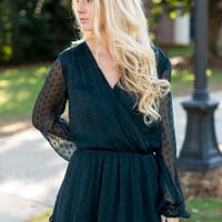 Free People Daliah Mini Dress - Deep Jade