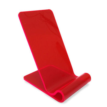 iPhone 6 stand Holdit.  Acrylic/Perspex 3mm thick,